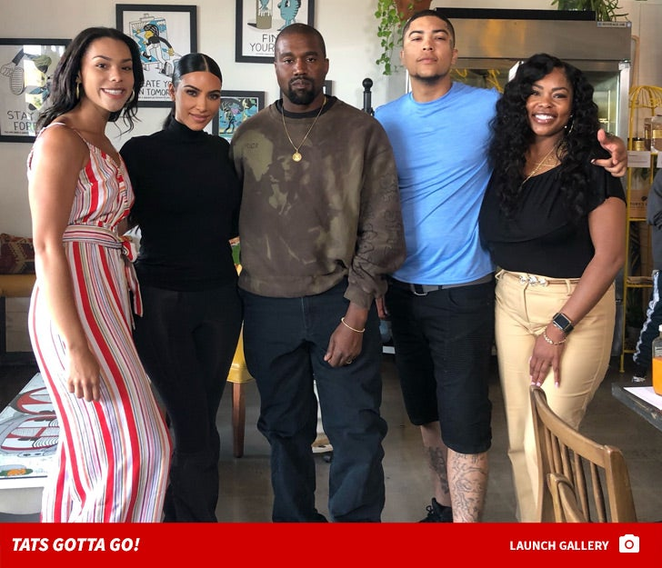 599a9c66f Kim Kardashian Helping Released Prisoner Remove Face Tattoos, Meets ...