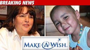 Make-A-Wish -- Yes, Batkids in Remission  But HE STILL
