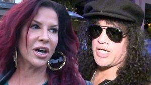 Slash's Estranged Wife Thinks His New GF is Behind Social Media Attacks