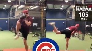 """Chicago Cubs Draft Pitcher Who Throws 105 MPH, 6'8"""" Giant!"""