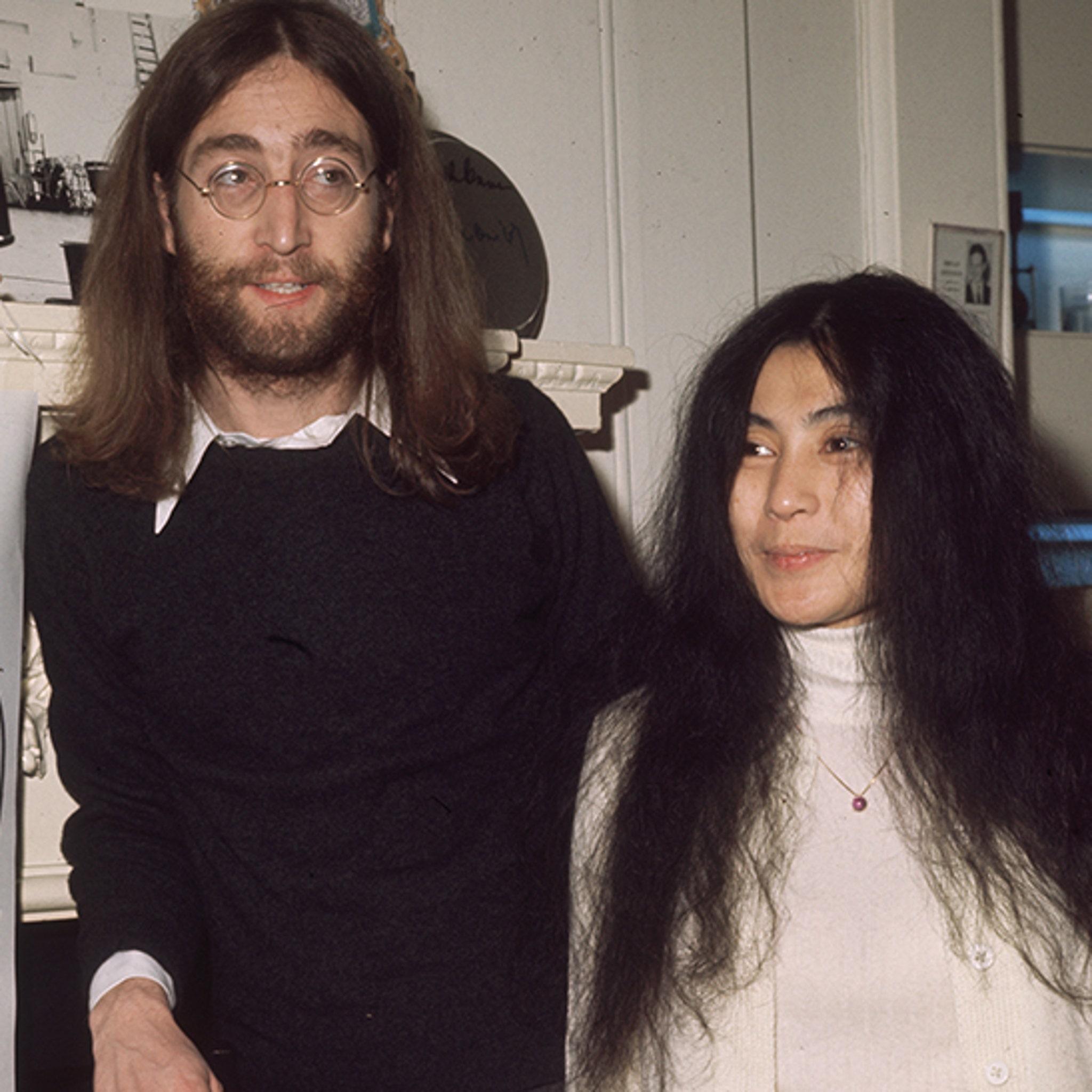 John Lennon S Christmas Card To Yoko Ono S Ex For Sale