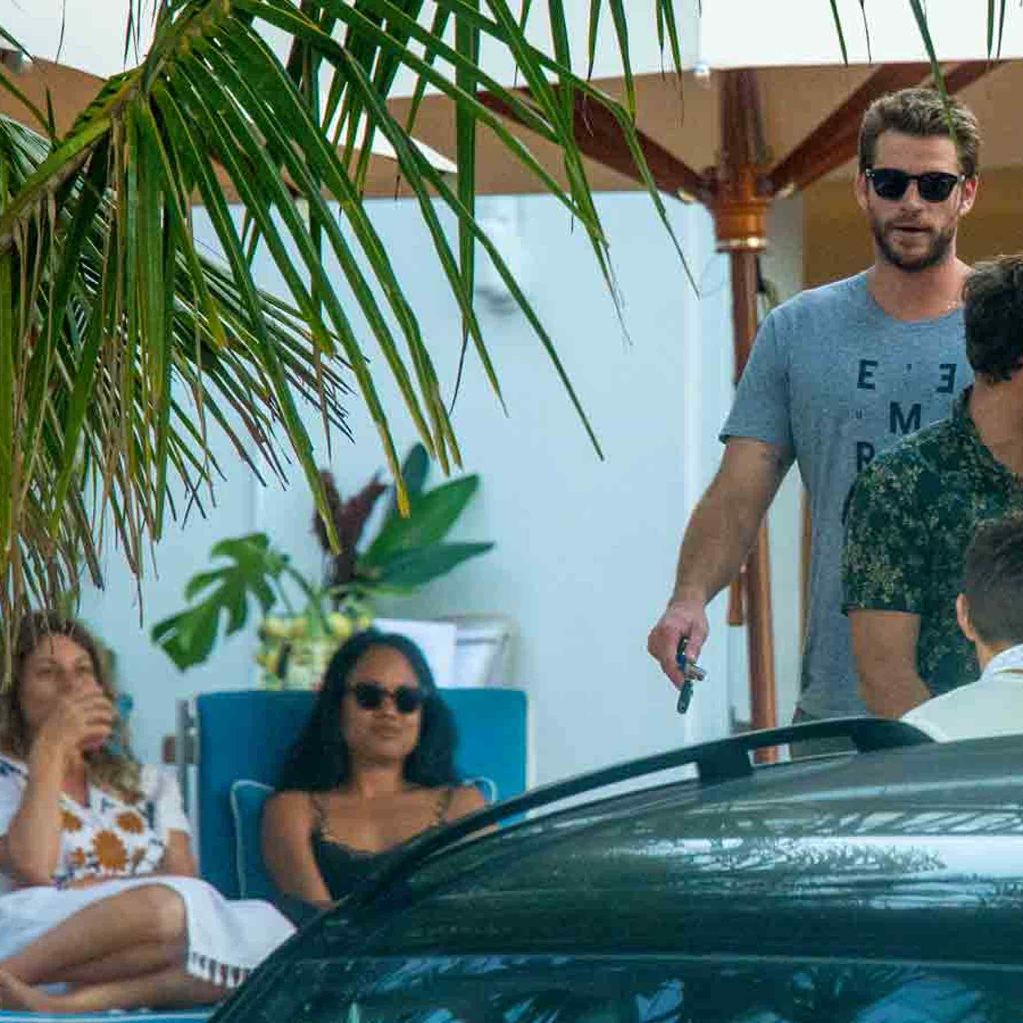 Liam Hemsworth Chills in Australia After Breakup with Miley Cyrus