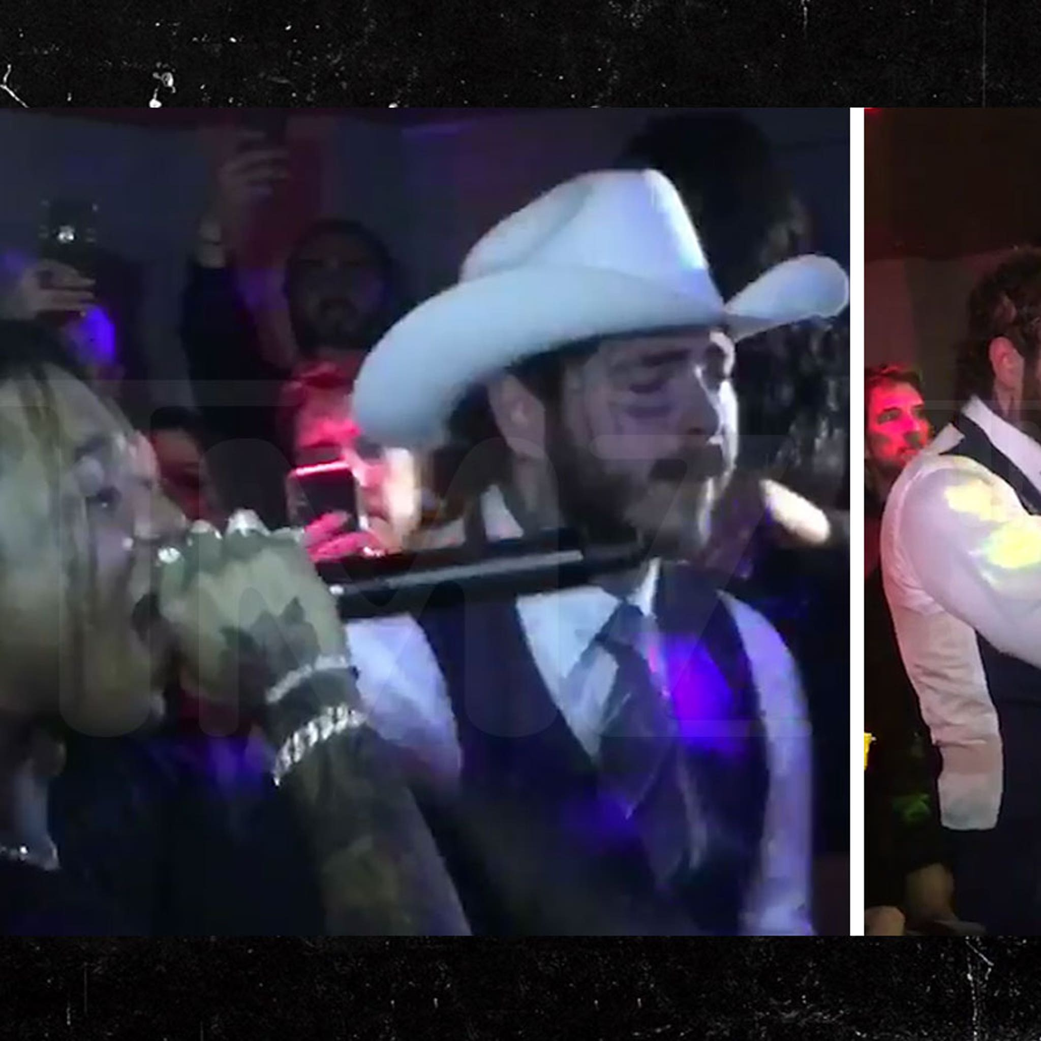 Post Malone and Swae Lee Perform at GQ Men of the Year After Party