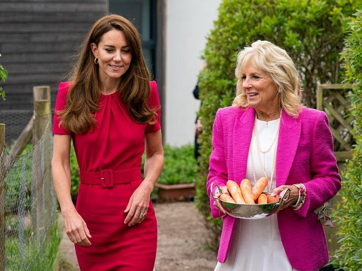 Jill Biden, Kate Middleton Meet for the First Time, Tour School.jpg