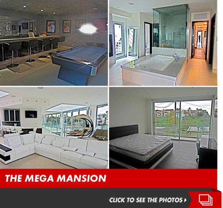 Trey Songz' Hollywood Mansion