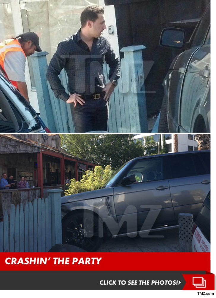 'Million Dollar Listing' Star Josh Altman –- Crashes Range Rover into House of Blues