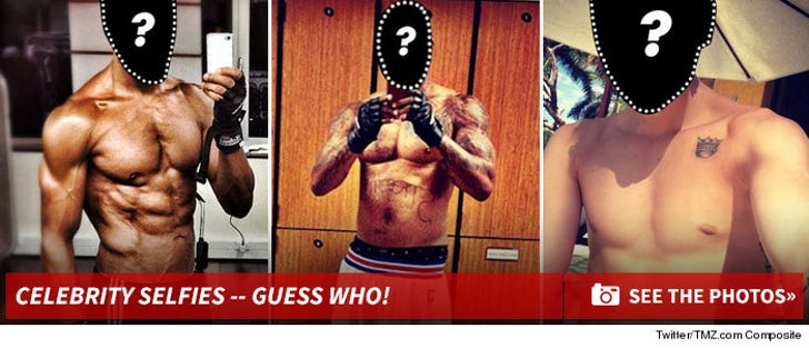 Sexy Celebrity #Selfies -- Guess Who