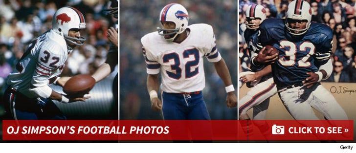 O.J. Simpson's Football Photos