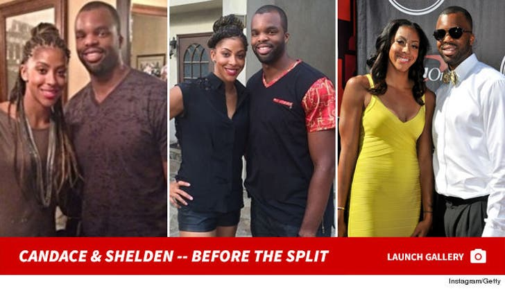 Candace Parker and Shelden Williams -- Before the Split