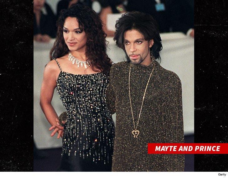 Prince's Ex-Wife Mayte Garcia Slams Sinead O'Connor for