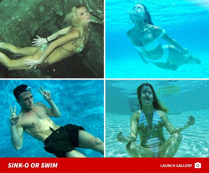 Stars Underwater