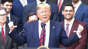Donald Trump Praises Red Sox, Ignores No-Show Star Players