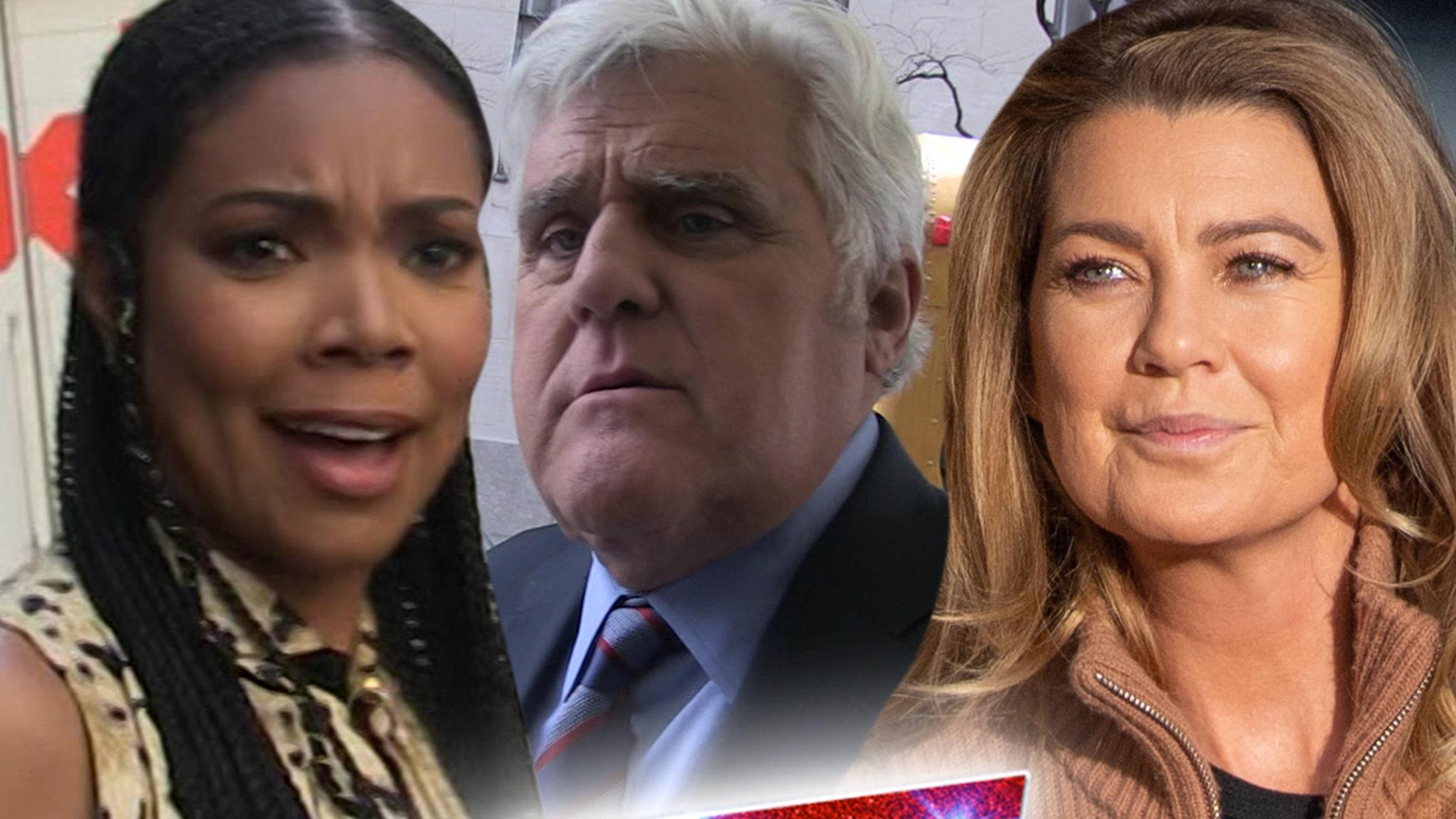 Jay Leno's 'AGT' Joke Wasn't Racist, Says Alonzo Bodden as Ellen Pompeo Backs Gabrielle Union