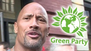 Green Party Says The Rock Not Tough Enough to Be Its Presidential Candidate