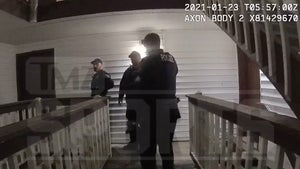 Chad Wheeler Arrest Body Cam Footage, Intense Struggle to Subdue NFL Lineman