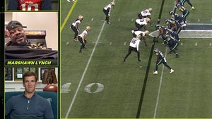 Marshawn Lynch Drops F-Bomb Live On 'Monday Night Football' Manningcast