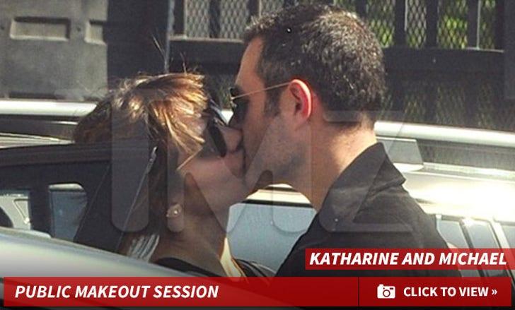 Katharine McPhee Kissing Another Man!