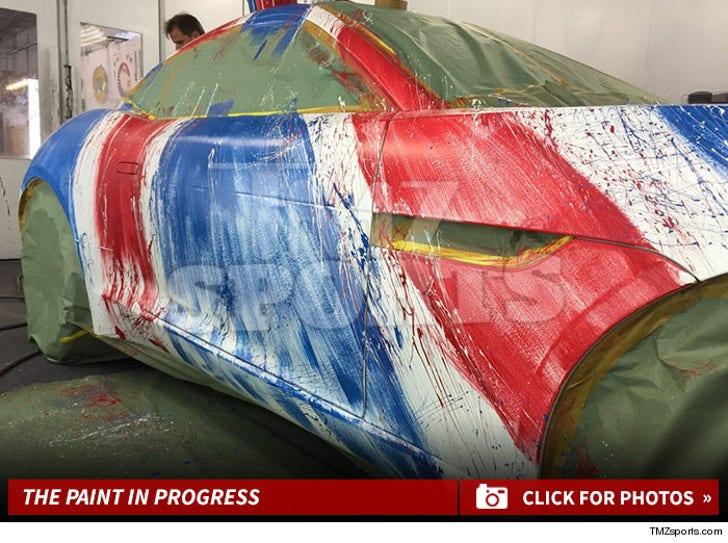 Alexei Ramirez Cool Car in the Works