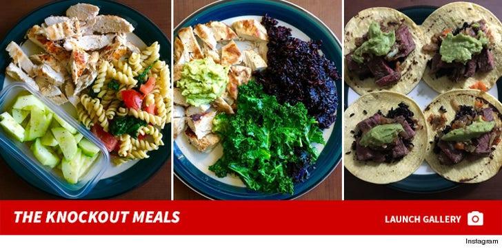 Jon Jones' Knockout Meals