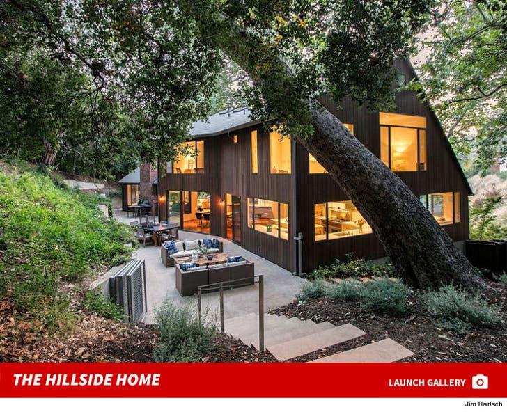 Frank Beddor's Hillside Home