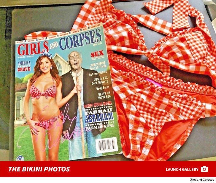 Farrah Abraham's 'Girls And Corpses' Bikini