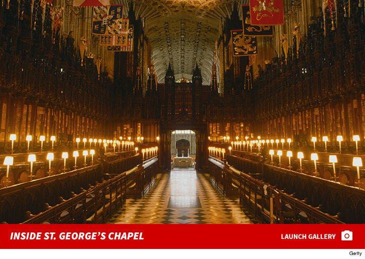 Inside St. George's Chapel