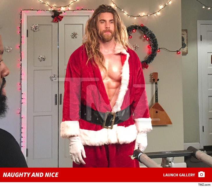 Brock O'Hurn Sexy Santa -- Naughty and Nice