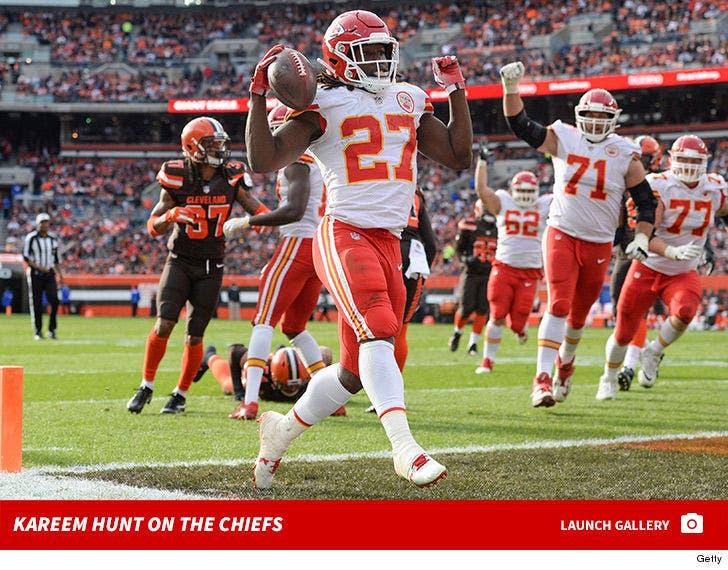 Kareem Hunt on the Chiefs