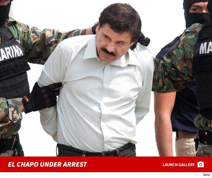 El Chapo Under Arrest