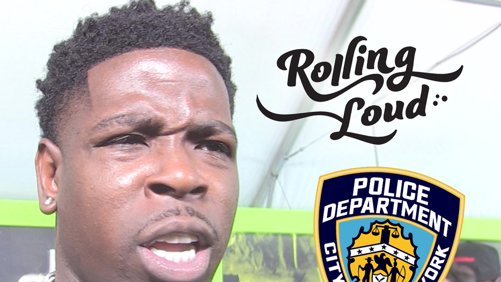 Casanova & Other Rappers Ousted from Rolling Loud After NYPD Request - TMZ thumbnail