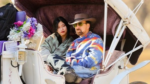 Nicolas Cage and GF Enjoy Horse-Drawn Carriage Ride in Central Park