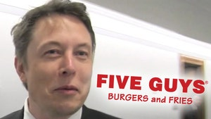 Elon Musk Grabbed Five Guys Burger After SpaceX Launch Postponement
