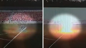 Teen Soccer Player Hit By Lightning Bolt On Field, Insane Explosion Caught On Video