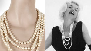 Marilyn Monroe's Pearls from Last Ever Photo Shoot Heading to Auction