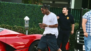 Travis Scott Gets McDonald's Delivered to Office After New Meal Launch