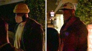 LeBron James Masks Up For Fancy L.A. Couples Dinner with Anthony Davis