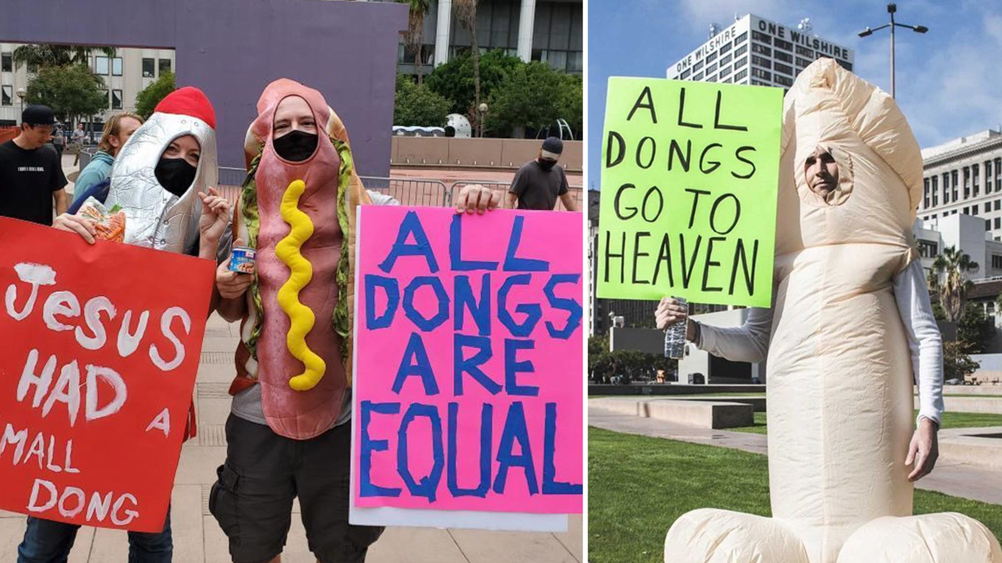 Small Dong March Through Los Angeles Seeks To End Small Penis Shame - tmz.com