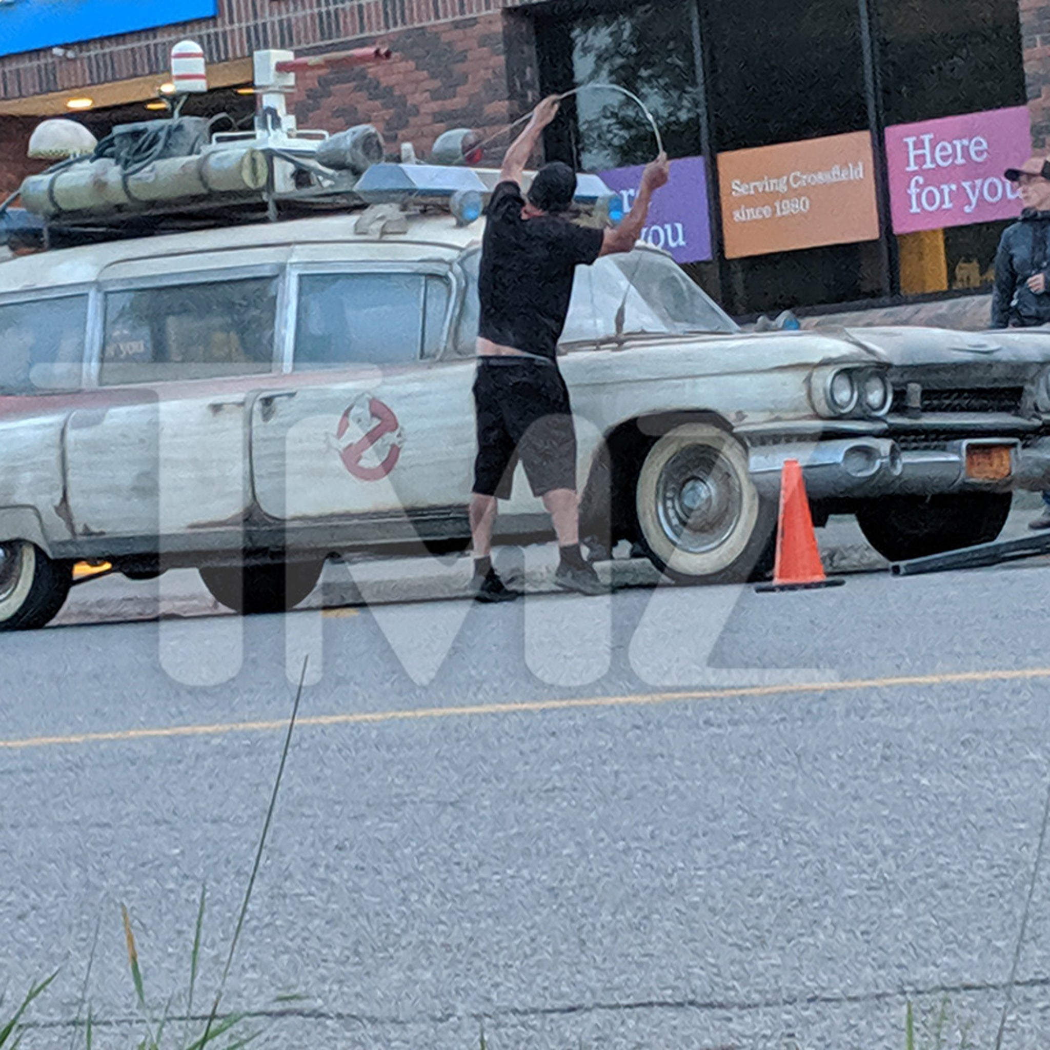 'Ghostbusters' Car Spotted in Canada Filming New Movie