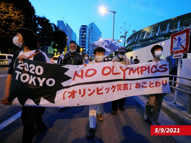Olympics Protests In Tokyo