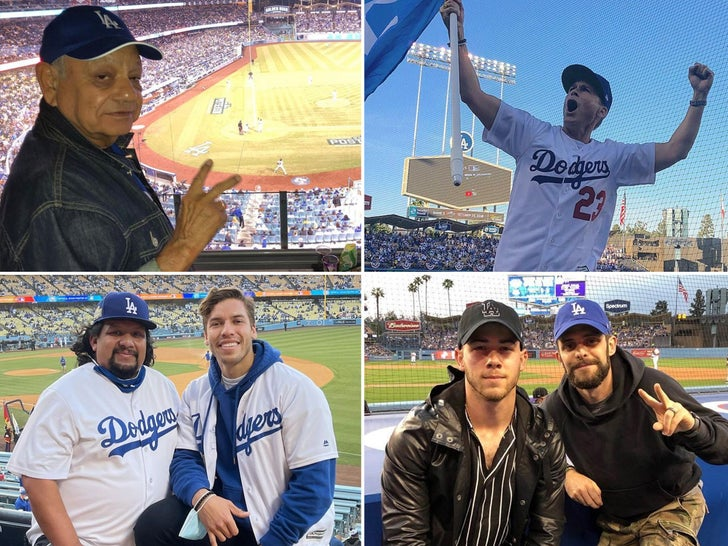 Famous Dodgers Fans -- For the Win!