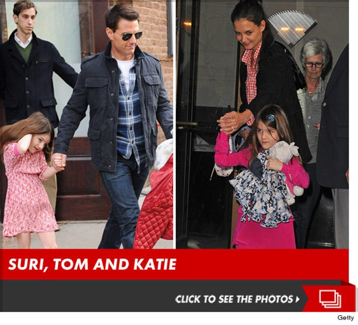 Suri, Tom and Katie