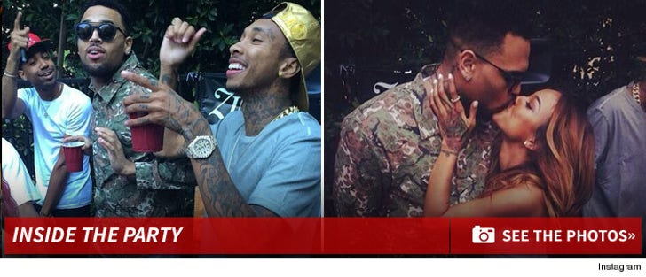 Chris Brown -- Inside the Party