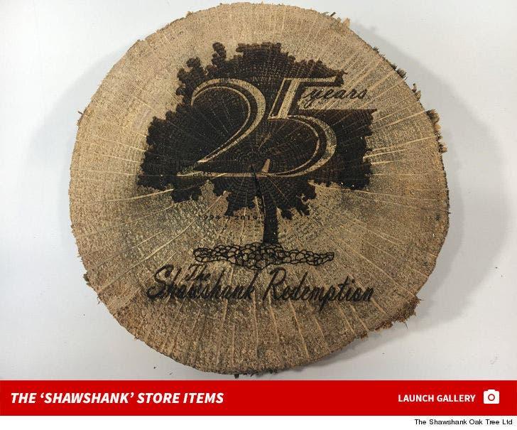 'The Shawshank Redemption' Tree -- 25th Anniversary Store Items