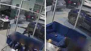 Hero Dad Shields Kids As Gunman Opens Fire into Bronx Car Dealership
