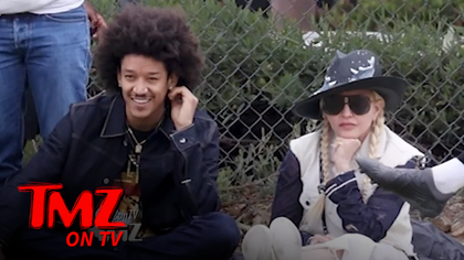Madonna and Boyfriend Attend Her Son's Soccer Match | TMZ TV.jpg