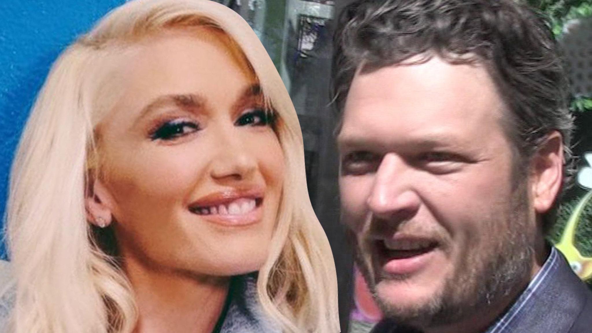 Gwen Stefani, Blake Shelton File for Marriage License, Weekend Wedding in Works thumbnail