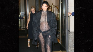 Kylie Jenner Shows Off Baby Bump and a Lot More in New Pregnancy Photo