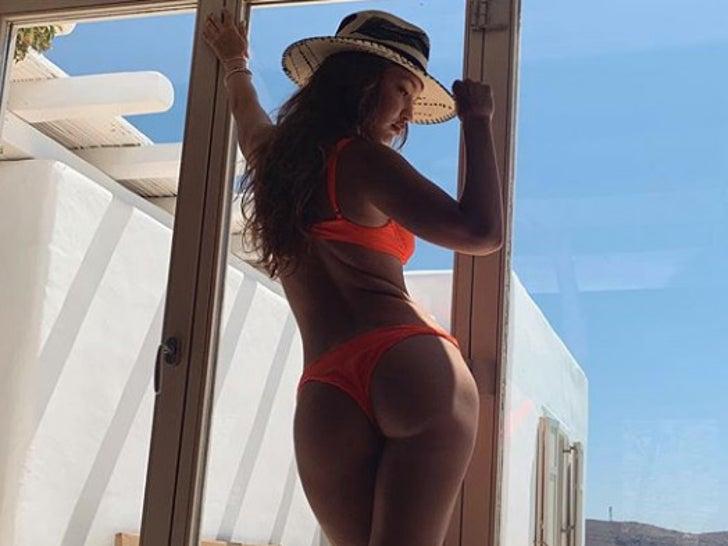 Gigi Hadid in Greece