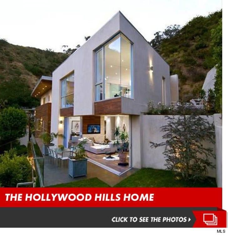 Crystal Harris' Hillside Home