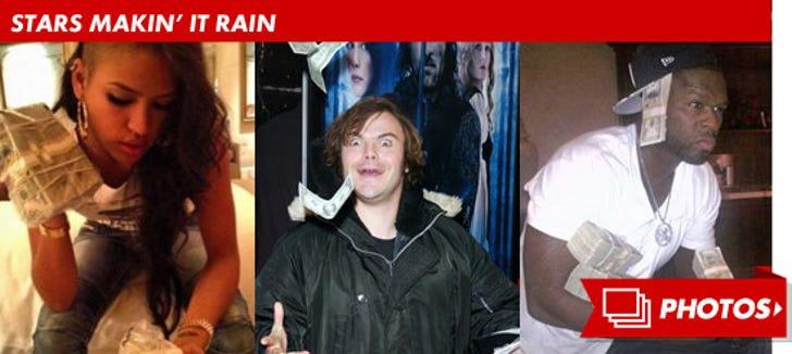 Stars Makin' It Rain!
